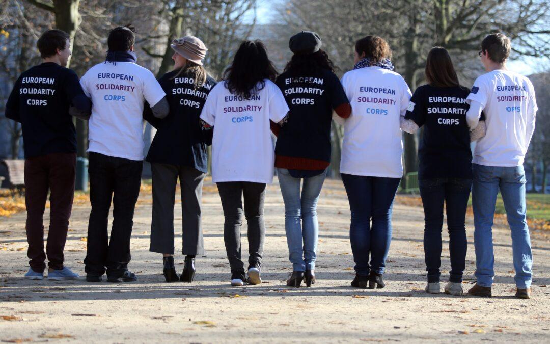 Nous sommes fiers d'être financés par le Corps européen de solidarité.