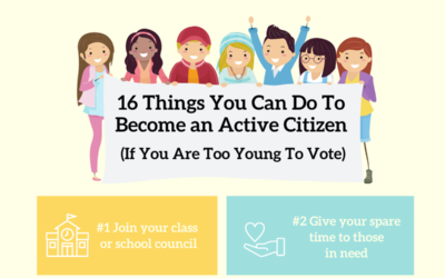16 Things You Can Do To Become an Active Citizen