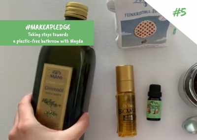 Vers une salle de bain sans plastique : les produits #DIY (ép. 5)
