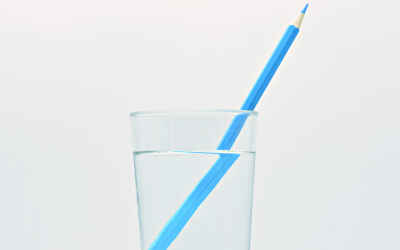 Transparency explained (with a pencil and a glass of water)
