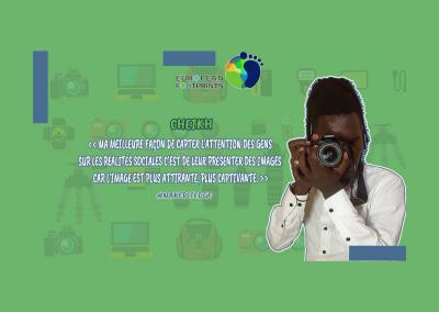 Filmmaking pour une société meilleure avec Cheikh