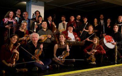European footprints & the Brussels Balkan Orchestra LIVE